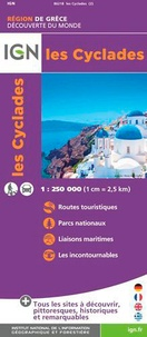 IGN - Les Cyclades - 1/250 000.