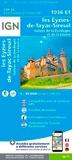 IGN - Les Eyziès-de-Tayac-Sireil - Vallées de la Dordogne et de la Vézère : 1/25 000.