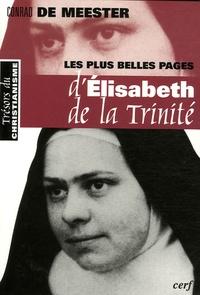 Conrad De Meester - Les plus belles pages d'Elisabeth de la Trinité - Précédé d'un Prélude sur La beauté spirituelle.