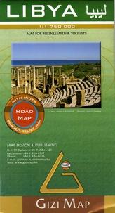 Gizi Map - Libya - 1/1 750 000.