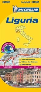 Michelin - Liguria - 1/200 000.