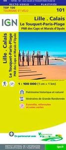 IGN - Lille, Calais, Le Touquet-Paris-Plage - 1/100 000.