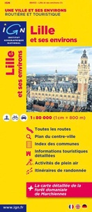 IGN - Lille et ses environs - 1/80 000.