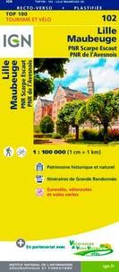 IGN - Lille Maubeuge - 1/100 000.
