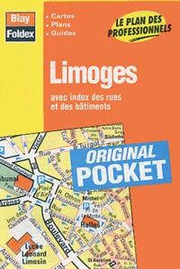 Blay-Foldex - Limoges - Avec index des rues et des bâtiments.