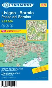 Collectif - Livigno/Bormio/Passo del Bernina - 1/25 000.