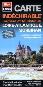 Blay-Foldex - Loire-Atlantique, Morbihan - 1/180 000.