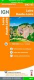 IGN - Loire, Haute-Loire - 1/150 000.