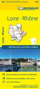 Michelin - Loire, Rhône - 1/150 000.