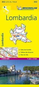 Michelin - Lombardia - 1/200 000.