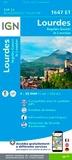 IGN - Lourdes, Argelès-Gazost, le Lavedan - 1/25 000.