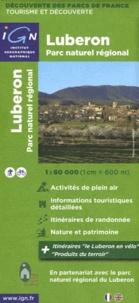 IGN - Luberon Parc naturel régional - 1/60 000.