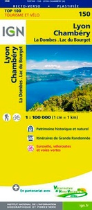 IGN - Lyon Chambéry - 1/100 000.