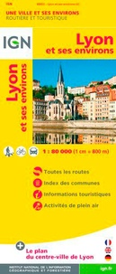 IGN - Lyon et ses environs - 1/80 000.
