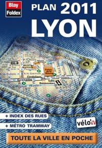 Blay-Foldex - Lyon - Plan de poche.