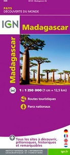 IGN - Madagascar - 1/1 250 000.