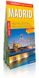 Express Map - Madrid - Miniguide, plan de ville 1/10 000, plan de Casa de Campo 1/25 000.