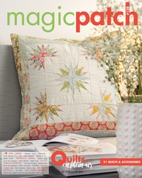 Editions de Saxe - Magic patch N° 138 : Quilts en plein air.
