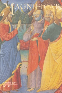 Bernadette Mélois et  Collectif - Magnificat Grand format N° 143, Octobre 2004 : .
