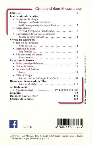 Magnificat Petit format N° 332, juillet 2020