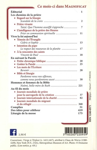 Magnificat Petit format N° 334, septembre 20