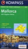 Kompass - Mallorca - 1/75 000, mit Cityplan Palma + Aktiv Guide.