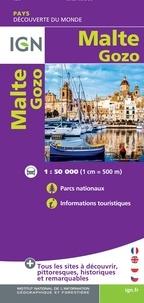 IGN - Malte, Gozo - 1/50 000.