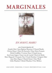 Jacques De Decker et Alan Ward - Marginales N° 298299 : En avant, Marx.