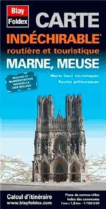 Blay-Foldex - Marne, Meuse - 1/180 000.