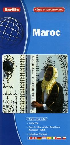 Berlitz - Maroc - 1/800 000.