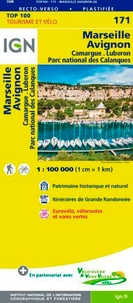 IGN - Marseille Avignon - 1/100 000.