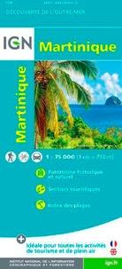 IGN - Martinique - 1/75 000.