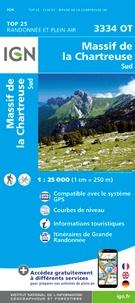 IGN - Massif de la Chartreuse sud - 1/25 000.