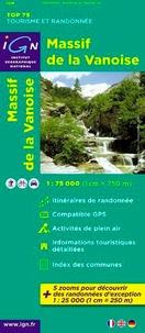 IGN - Massif de la Vanoise - 1/75 000.