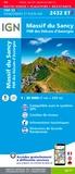 IGN - Massif du Sancy PNR des Volcans d'Auvergne - 1/25 000.