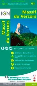 IGN - Massif du Vercors - 1/75 000.