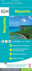 IGN - Mayotte - 1/50 000.