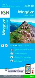 IGN - Megève, Col des Aravis - 1/25 000.