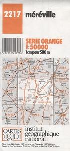 IGN - Méréville - 1/50000.