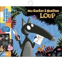 Orianne Lallemand et Eléonore Thuillier - Mes cartes à gratter Loup - Avec 10 cartes et 1 crayon en bois.