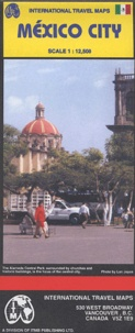 International Travel Maps - México City.