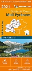 Michelin - Midi-Pyrénées - 1/200 000.