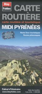 Blay-Foldex - Midi Pyrénées - 1/200000.