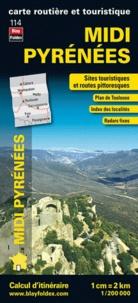 Blay-Foldex - Midi Pyrénées - 1/200 000.