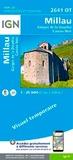 IGN - Millau, Gorges de la Dourbie, Causse Noir - 1/25 000.