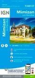 IGN - Mimizan Lac d'Aureilhan - 1/25 000.