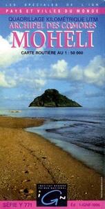 IGN - Mohéli Archipel des Comores - 1/50 000.