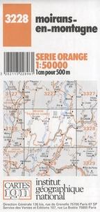 IGN - Moirans-en-Montagne - Carte topographique 1/50 000.