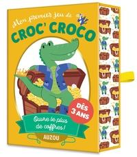 Stéphanie Auvergnat et Malu Lenzi - Mon premier jeu de Croc' Croco - Pars à la chasse aux trésors !.