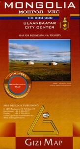 Gizi Map - Mongolia - 1/2 000 000.